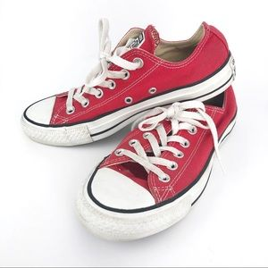 CONVERSE Chuck Taylor All Star Low Top Red 7